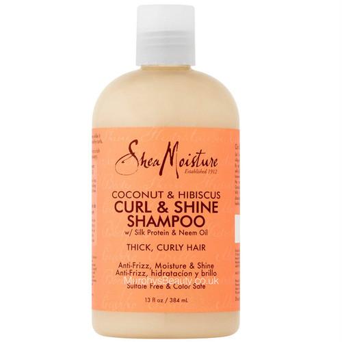 Shea Moisture | Coconut & Hibiscus | Curl & Shine Shampoo