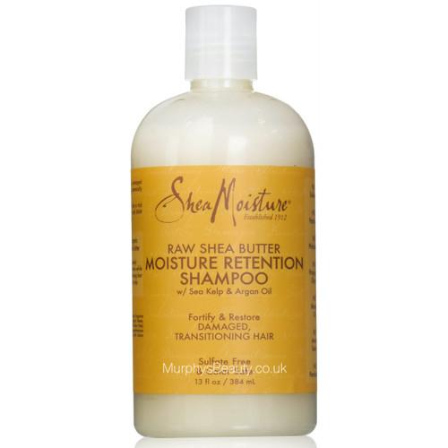 Shea Moisture | Raw Shea Butter | Moisture Retention Shampoo