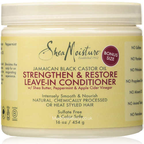Shea Moisture | Jamaican Black Castor Oil | Strengthen and Restore Leave-in Conditioner