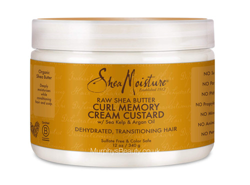 Shea Moisture | Raw Shea Butter | Curl Memory Cream Custard