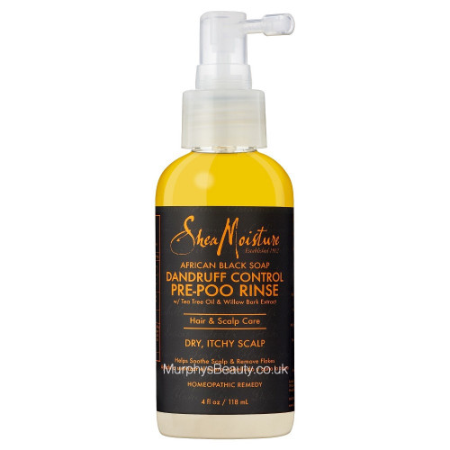 Shea Moisture | African Black Soap | Dandruff Control Pre-Poo Rinse
