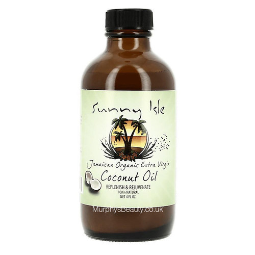 Sunny Isle   Jamaican Organic Extra Virgin Coconut Oil
