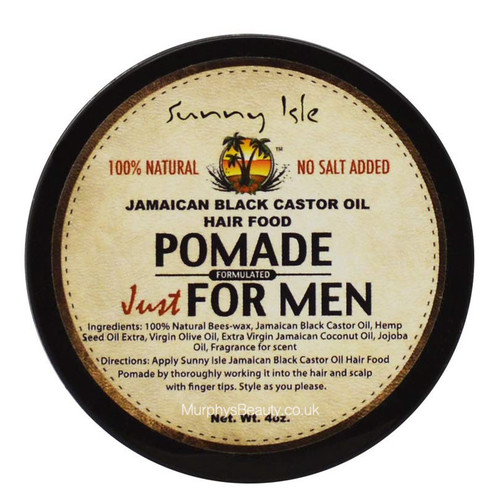 Sunny Isle | Jamaican Black Castor Oil | Pomade Just for Men
