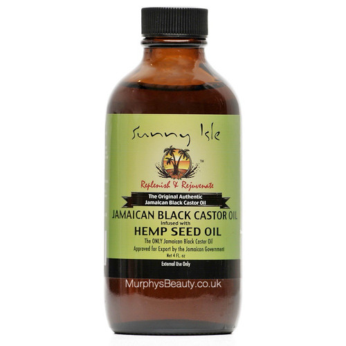 Sunny Isle   Jamaican Black Castor Oil   Infused with Hemp Seed Oil