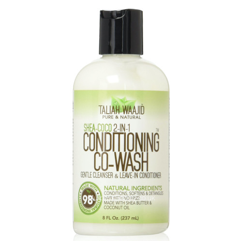 Taliah Waajid | Pure & Natural | Shea-coco 2in1 Conditioning Co-wash