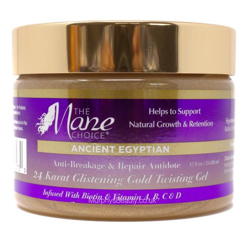 The Mane Choice | Ancient Egyptian | 24 Karat Gold Twisting Gel