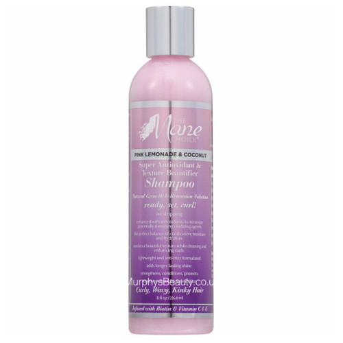 The Mane Choice   Pink Lemonade & Coconut   Super Antioxidant Texture Shampoo