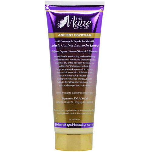 The Mane Choice | Ancient Egyptian | Anti Breakage Cuticle Control Leave-in Lotion