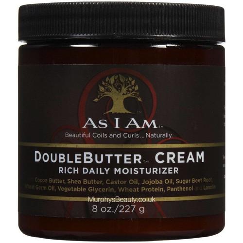 As I Am | Double Butter Cream Rich Daily Moisturiser