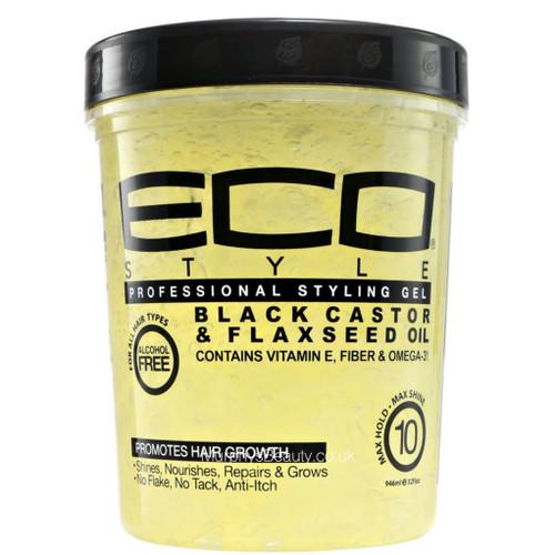 Eco | Black Castor & Flaxseed Oil Gel