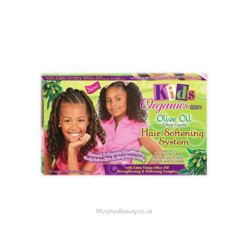 Africa's Best | Kids Organics | Ultra Gentle Hair Softening System