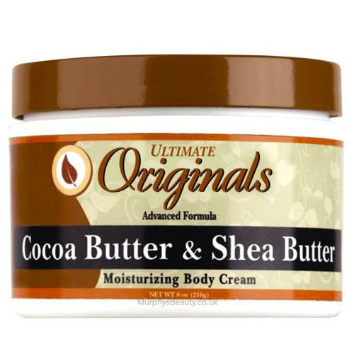 Africa's Best | Ultimate Organics | Cocoa & Shea Butter Body Cream