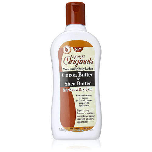 Africa's Best | Ultimate Organics | Cocoa & Shea Butter Body Lotion