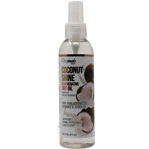 Africa's Best   Coconut Shine Regenerative Dry Oil