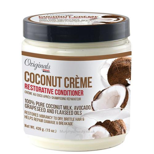 Africa's Best   Originals Coconut Creme Restorative Conditioner