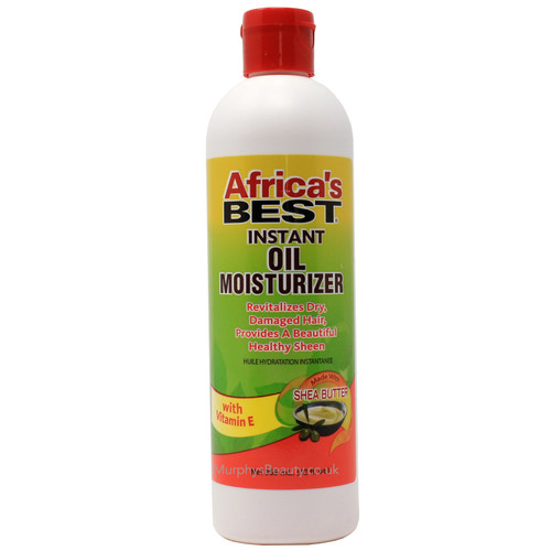 Africa's Best   Instant Oil Moisturizer with Shea Butter