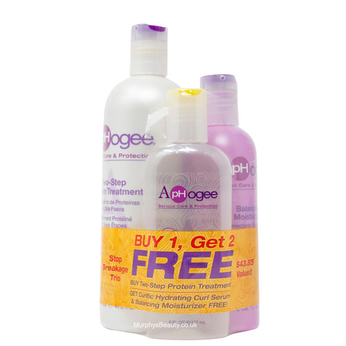 Aphogee | Two-Step Protein Treatment (Stop Breakage Trio) (16oz)