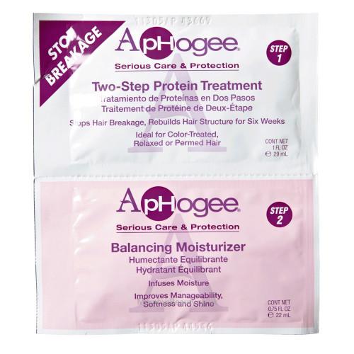 Aphogee | Two-Step Protein Treatment & Balancing Moisturizer Sachet