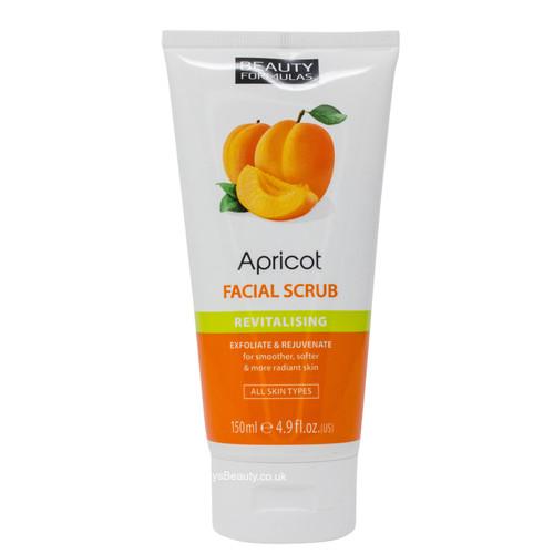 Beauty Formulas | Apricot Facial Scrub Revitalising (150ml)