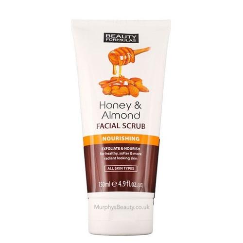 Beauty Formulas | Honey & Almond Facial Scrub