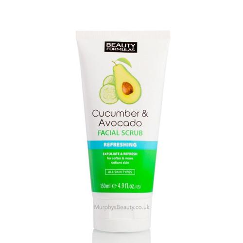 Beauty Formulas | Cucumber & Avocado Facial Scrub