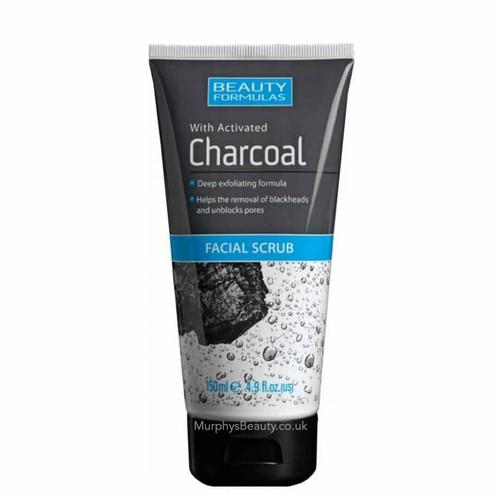 Beauty Formulas | Charcoal Facial Scrub