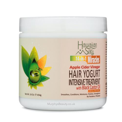 Hawaiian Silky   Apple Cider Vinegar   Hair Yogurt Intensive Treatment