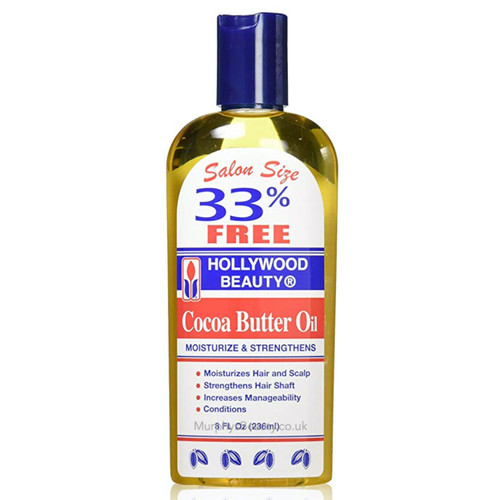 Hollywood Beauty   Cocoa Butter Oil