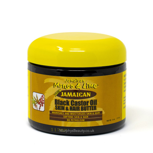 Jamaican Mango & Lime | Pure Black Castor Oil Skin & Hair Butter