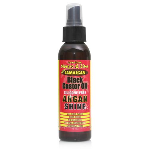 Jamaican Mango & Lime   Black Castor Oil Argan Shine Spray