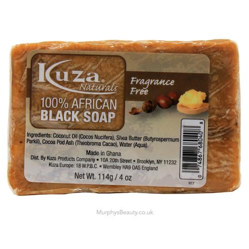 Kuza | 100% African Black Soap (Fragrance Free)