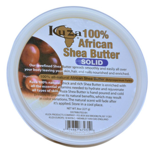 Kuza | 100% African Shea Butter Solid White