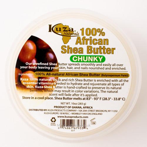 Kuza | 100% African Shea Butter Chunky (Yellow)