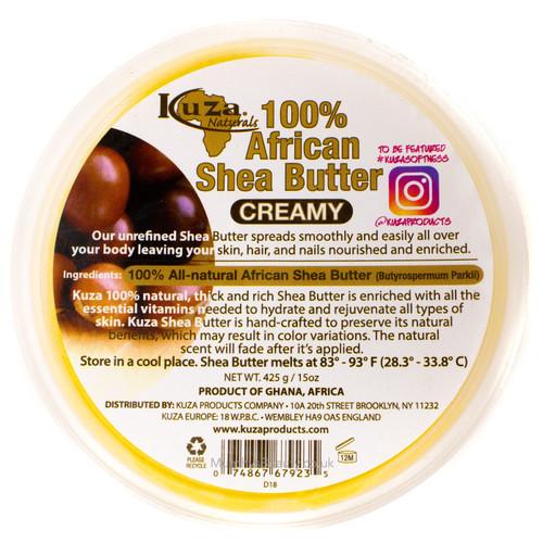 Kuza | 100% Shea Butter Creamy (Yellow)