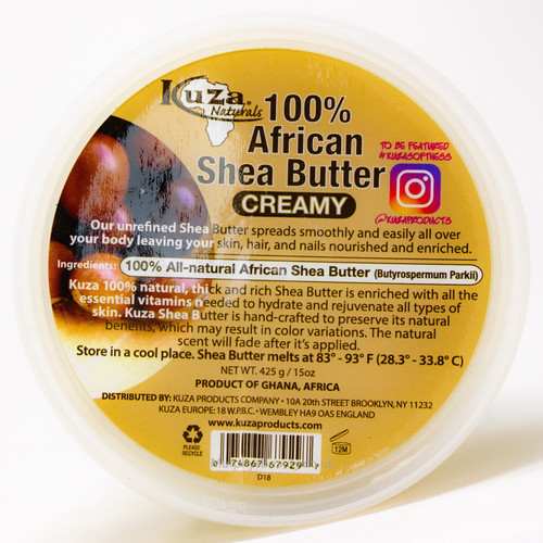 Kuza | 100% Shea Butter Creamy (White)