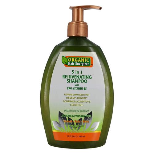 Organic Hair Energizer | 5 in 1 Rejuvenating Shampoo