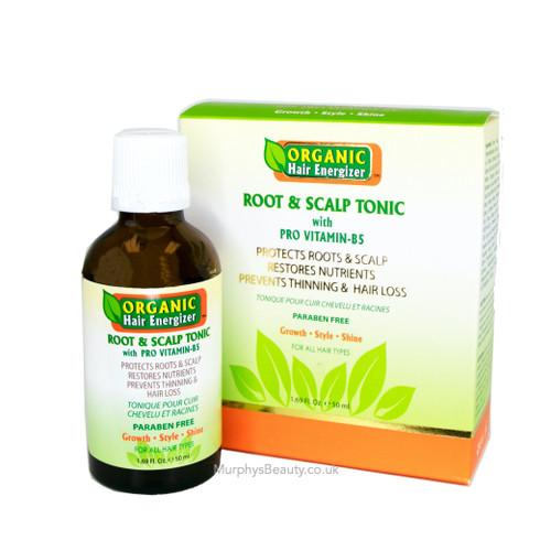 Organic Hair Energizer | Root & Scalp Tonic