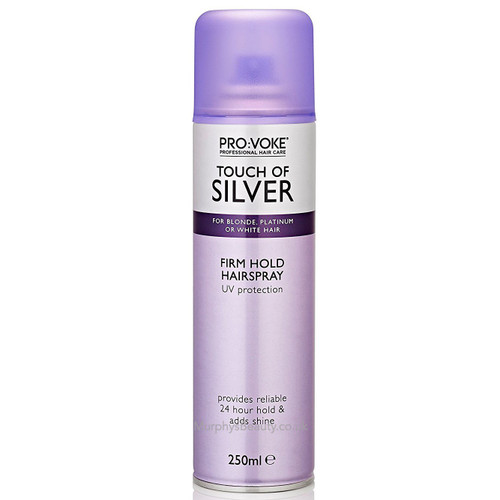 Pro: Voke | Touch of Silver | Firm Hold Hairspray