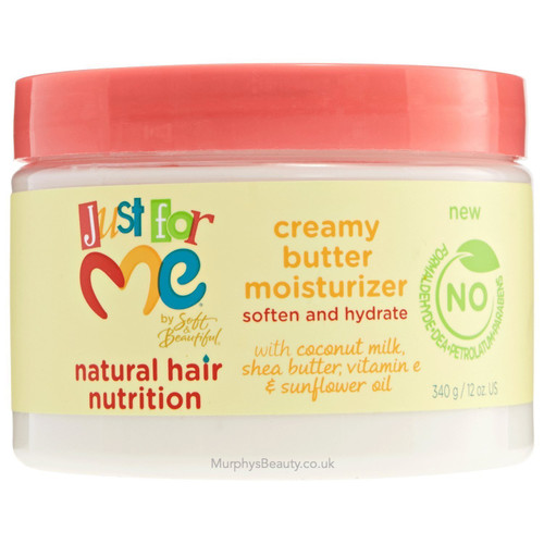 Soft & Beautiful | Just for Me | Creamy Butter Moisturizer