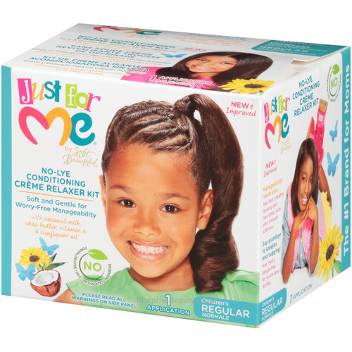 Soft & Beautiful | Just for Me | Creme Relaxer Kit Regular