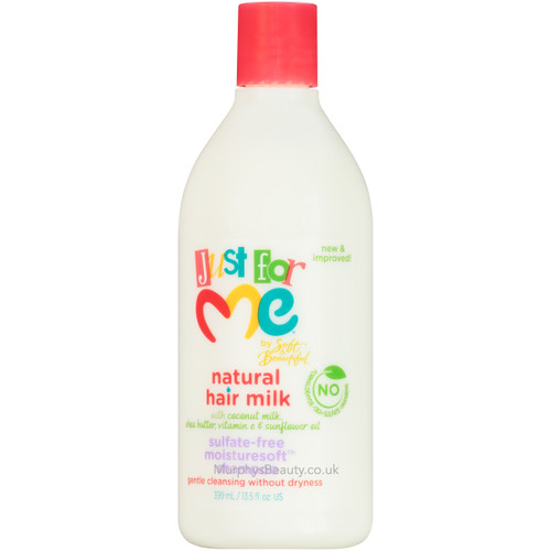 Soft & Beautiful | Just for Me | Hair Milk Sulfate-Free Shampoo