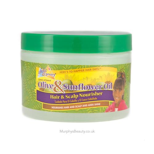 Sofn'Free n'Pretty | Olive & Sunflower Oil | Hair & Scalp Nourisher