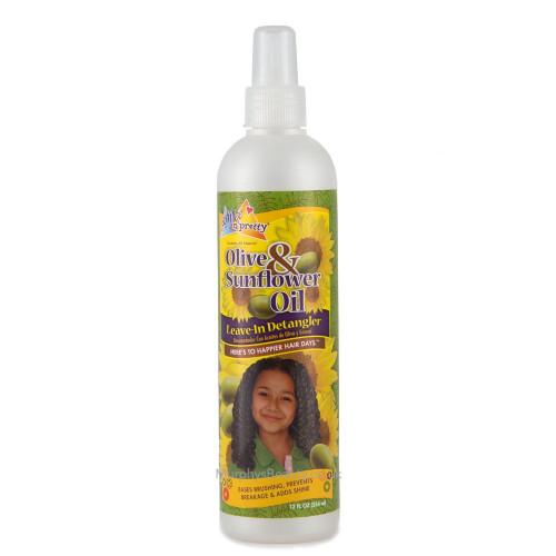Sofn'Free n'Pretty   Olive & Sunflower Oil   Leave-in Detangler