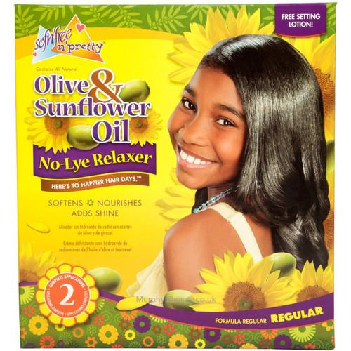 Sofn'Free | Olive & Sunflower Oil | Relaxer (Regular)