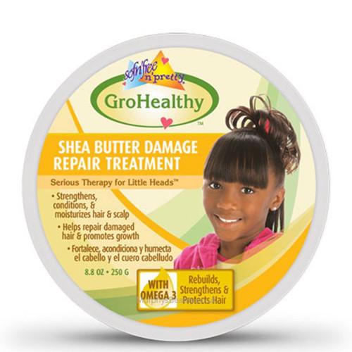Sofn'Free n'Pretty | Gro Healthy | Shea Butter Damage Repair Treatment