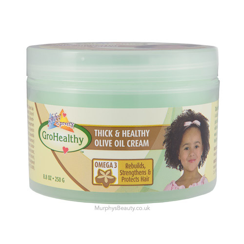 Sofn'Free n'Pretty | Gro Healthy | Thick & Healthy Olive Oil Cream