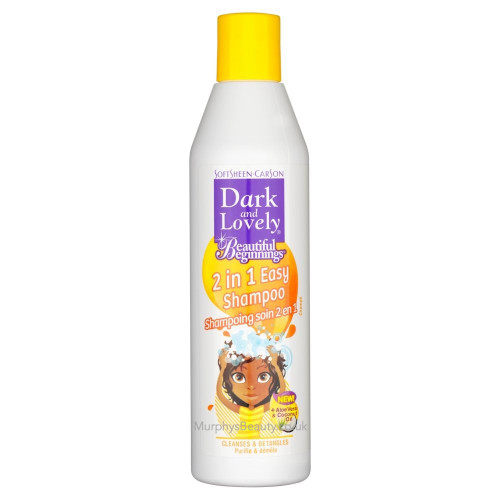 Dark and Lovely | Beautiful Beginnings | 2in1 Easy Shampoo