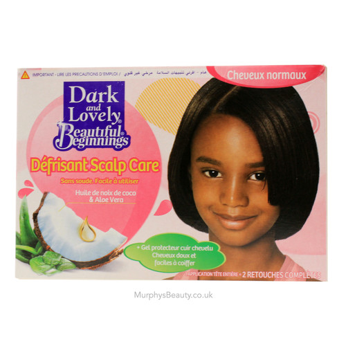 Dark and Lovely | Beautiful Beginnings | Soft'n Straight Relaxer (Normal)