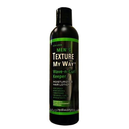 Texture My Way | Men's Moisturizing Hair Lotion