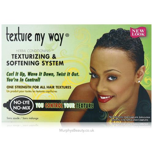 Texture My Way | Texturizing & Softening System